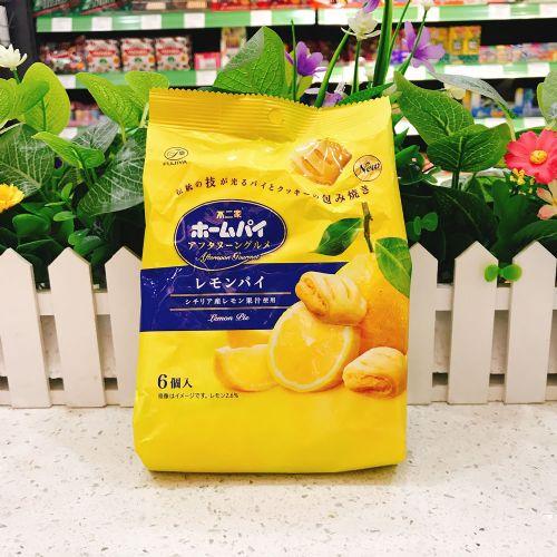 日本不二家柠檬夹心酥6个(企袋)