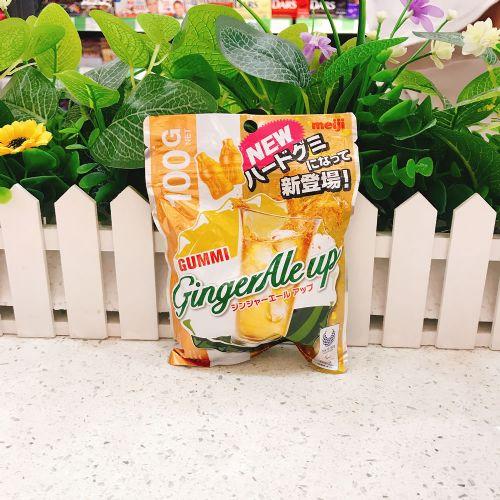 日本明治姜汁汽水软糖100g(袋装)