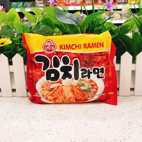 韩国不倒翁泡菜拉面120g
