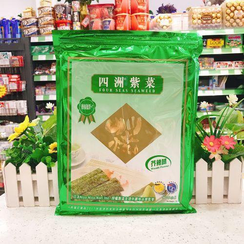 香港四洲紫菜(芥辣味)100小包