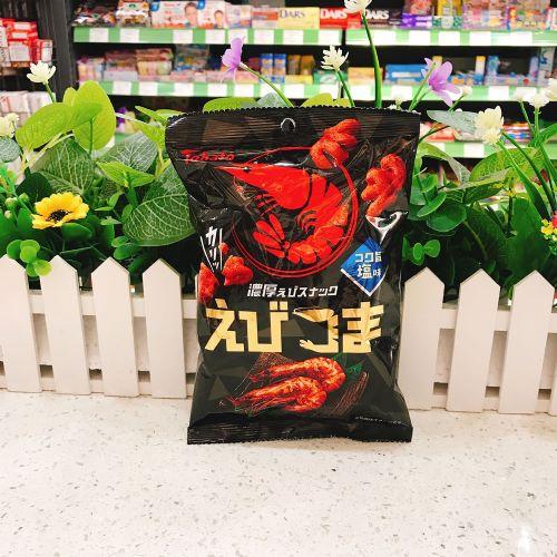 日本桃哈多浓厚盐味虾味脆口小食45g(袋装)