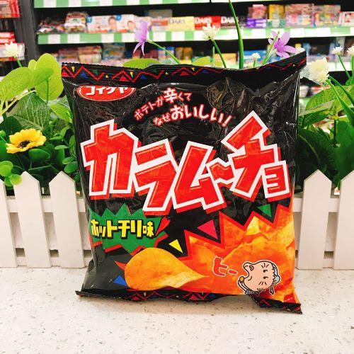 日本湖池屋阿婆辛辣薯片55g(袋装)
