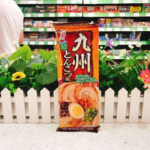 日本九州猪骨风味煮面182g