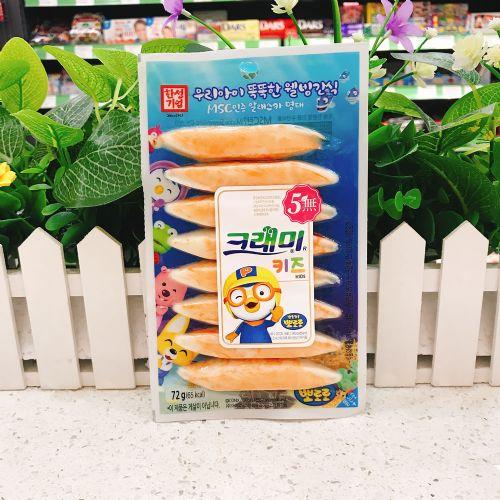 韩国客来美啵乐乐蟹味棒(鳕鱼肉制品)72g