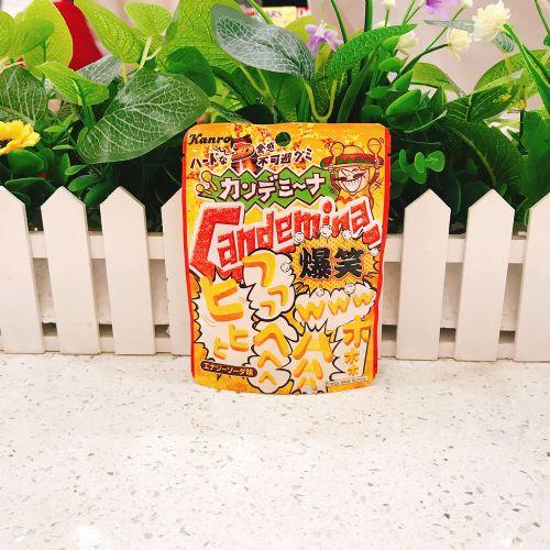 日本甘乐Candemina 爆笑能量饮料梳打糖40g(企袋)