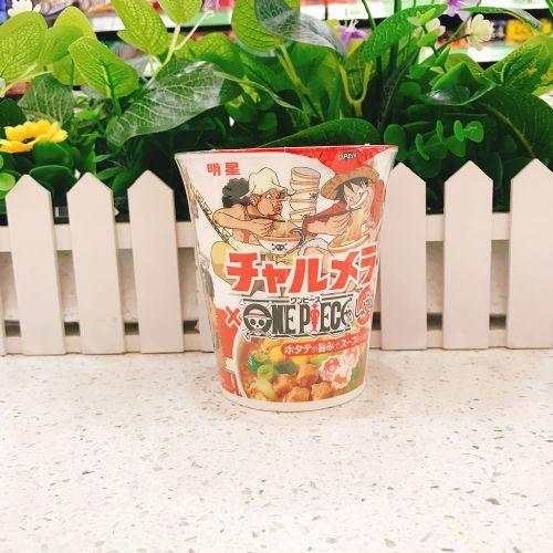 日本明星酱油味拉面68g(杯装)