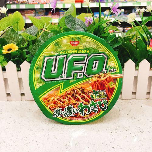 日本日清U.F.O.浓厚芥辣沙律酱炒面112g(碗装)