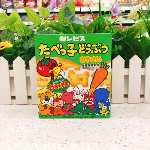 日本金必氏BB 蔬菜动物饼63g(盒装)