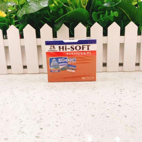 日本森永Hi-SOFT牛奶焦糖糖12粒(盒装)
