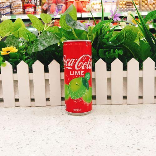 日本青柠味可口可乐250ml(罐装)