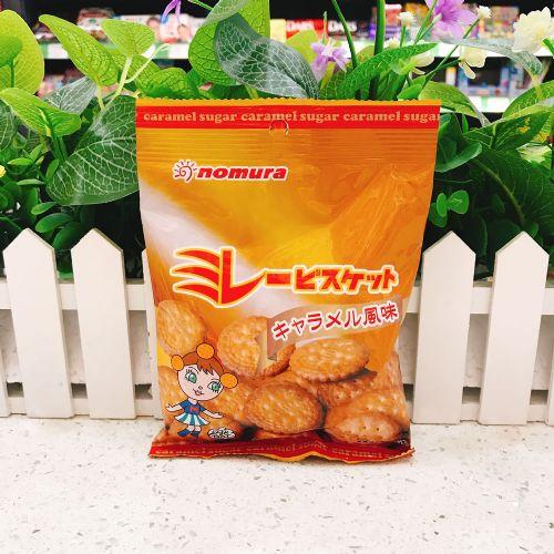 日本野村焦糖小圆饼70g(袋装)