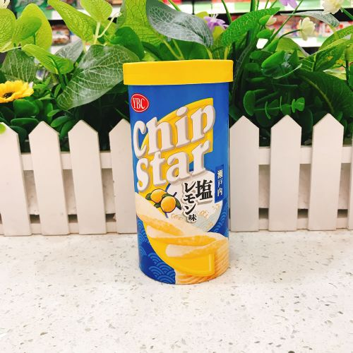 日本YBC濑户内盐柠檬薯片50g(筒装)