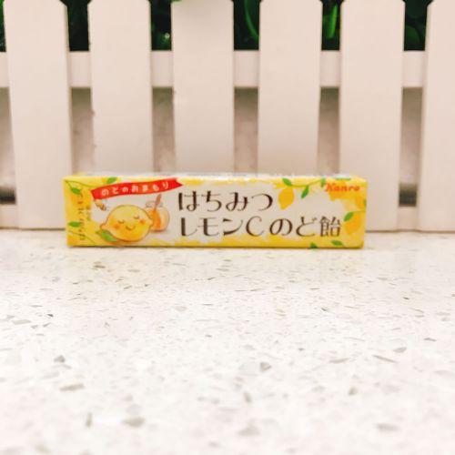 日本甘乐蜂蜜柠檬C润喉糖11粒(条装)