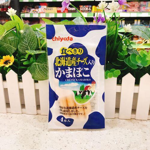 日本千代田十胜产浓厚芝士鱼肉肠48g(袋装)