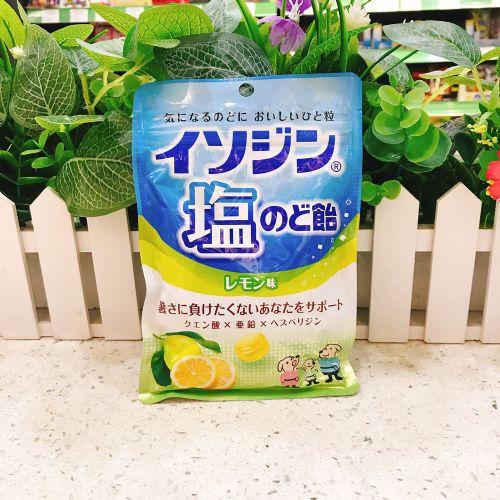 日本UHA悠哈味觉糖盐柠檬润喉糖81g(袋装)