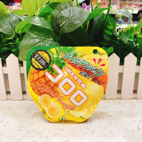 日本UHA悠哈味觉果汁软糖(菠萝味)52g