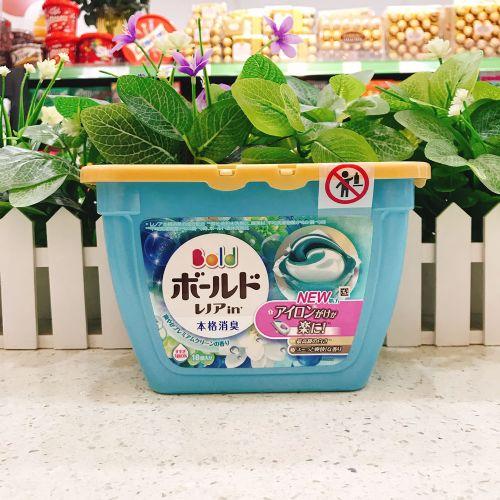 日本宝洁洗衣球(浅蓝百合)18粒