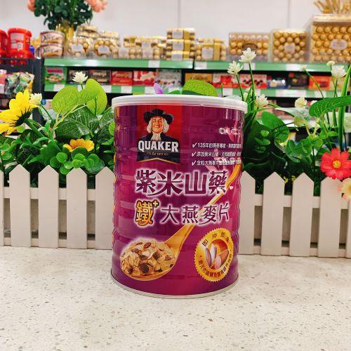 桂格紫米山药铁大燕麦片700g
