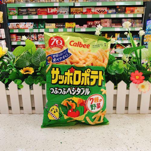 日本卡乐B 7种野菜脆条94g(袋装)
