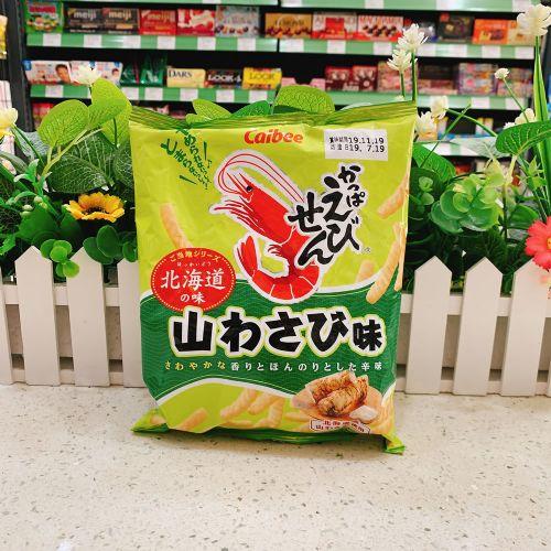 日本卡乐B 北海道芥辣味虾条70g(袋装)