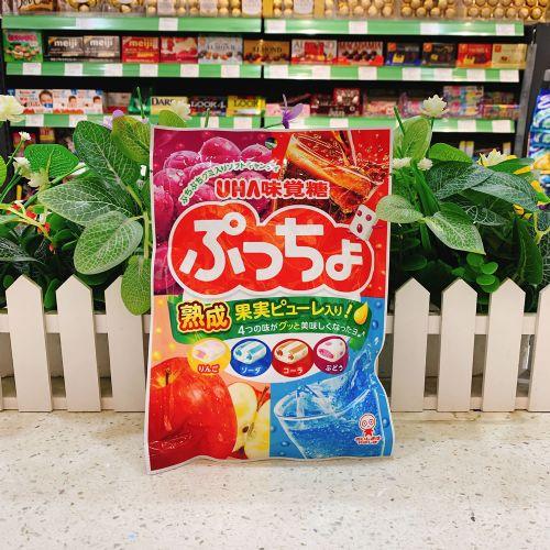 日本UHA悠哈味觉糖4味软糖93g