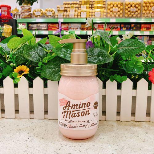 日本amino mason 氨基酸樱花护发素450ml