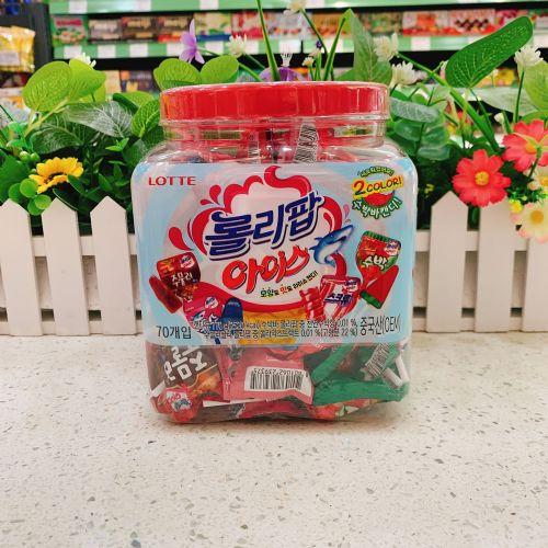 韩国乐天什锦棒棒糖(70支)770g