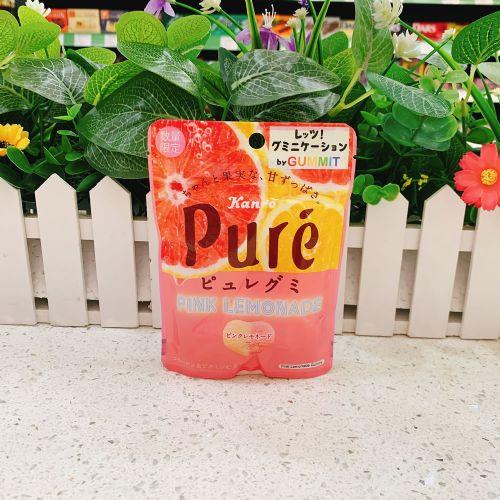 甘乐Pure西柚柠檬汁心型软糖59g(企袋)