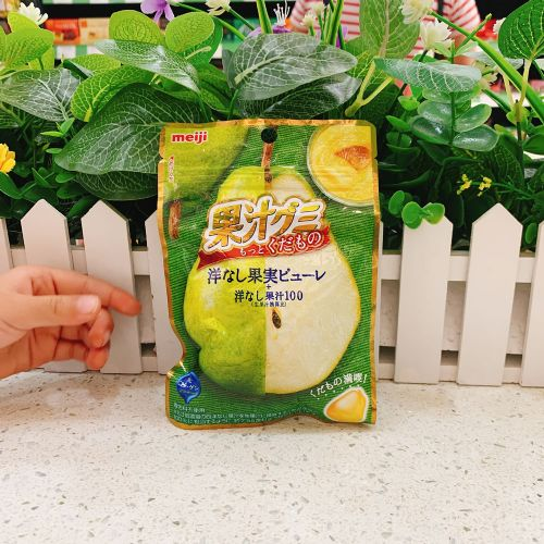 明治洋梨味果汁软糖47g(袋装)