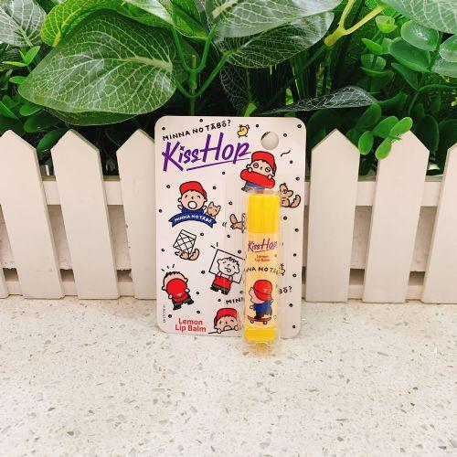 KissHop润唇膏(柠檬味)MINNA图案4.5g