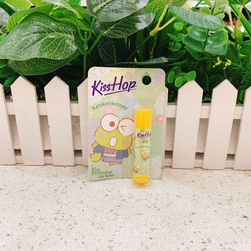KissHop润唇膏(柠檬味)青蛙图案4.5g