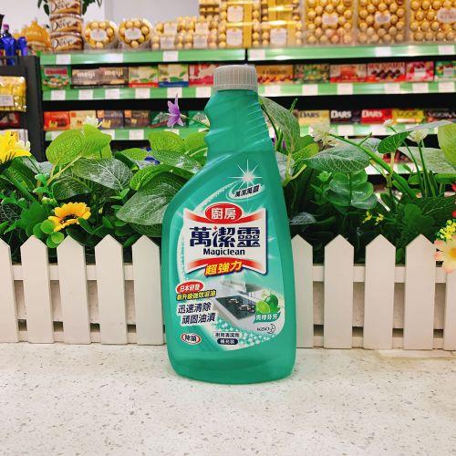 万洁灵青柠味厨房清洁剂500ml(补充装)