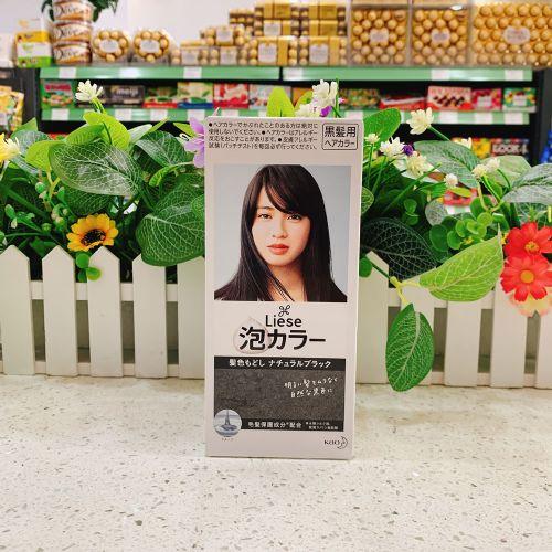 日本花王莉婕泡沫染发剂(还原黑)