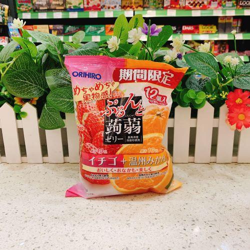 日本ORIHIRO香橙草莓�X�m12个(袋装)
