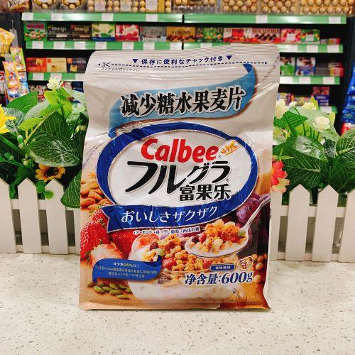 日本Calbee卡乐B减糖混合水果麦片600g