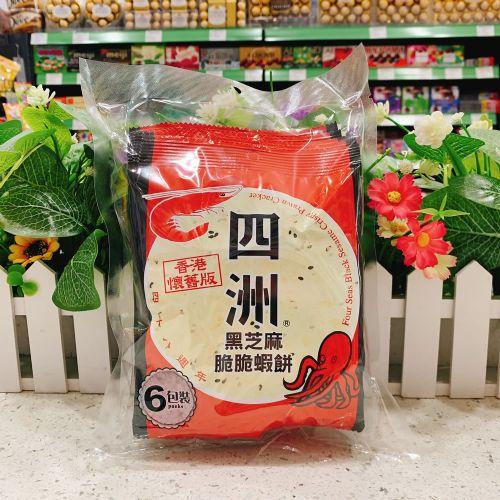 四洲紫菜虾饼36g×6包
