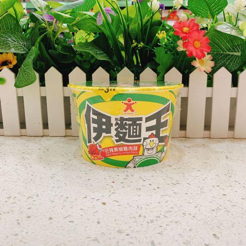 公仔伊面王碗面(巴辣黑椒鸡肉味)75g