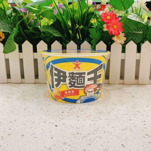 公仔伊面王碗面(海鲜味)75g