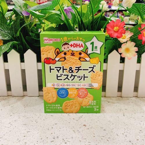 日本和光堂1岁番茄芝士饼34.5g(盒装)