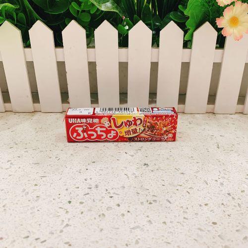 日本UHA悠哈味觉粒粒可乐软糖10粒(条装)