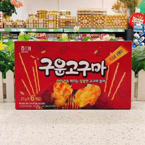 韩国海太紫薯味手指饼162g
