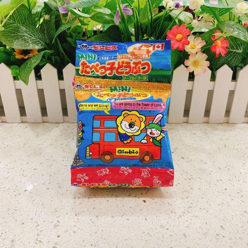 日本金必氏枫糖牛油BB动物饼70g(5连装)