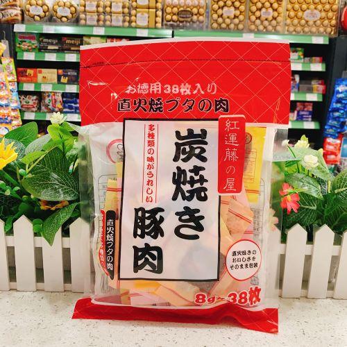 日本藤之屋炭烧猪肉干308g
