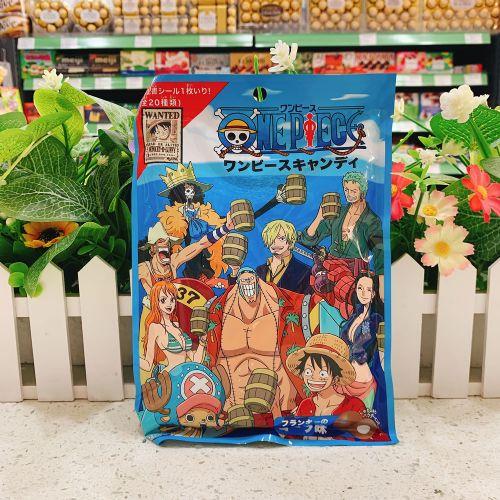 日本Pine OnePiece贴纸可乐糖70g(袋装)