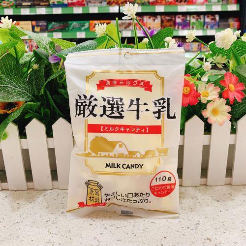 日本秋山制果精选牛奶糖110g