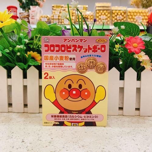 日本不二家面包超人馒头饼干50g(盒装)