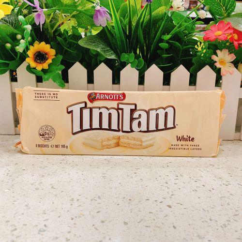 澳洲TimTam双层夹心白色巧克力饼干200g