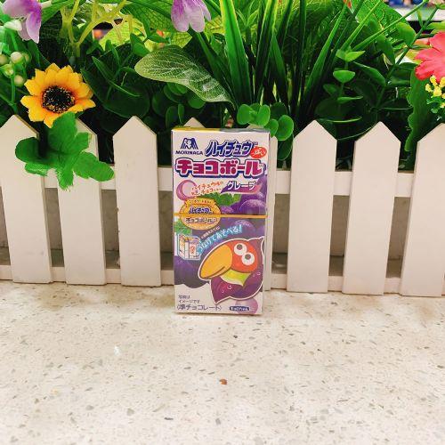 日本森永大咀鸟提子朱古力蛋25g(盒装)