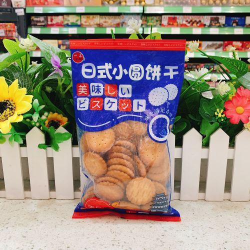 台湾一本日式小圆饼干