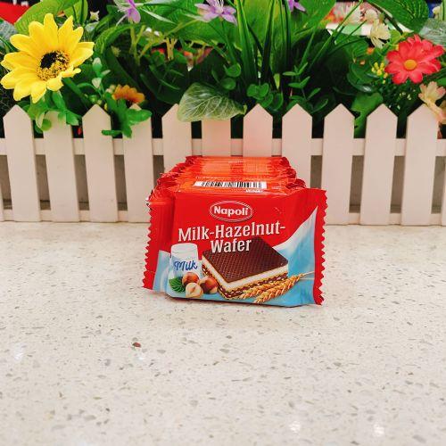 奥地利Napoli榛子巧克力威化饼(10包装)125g
